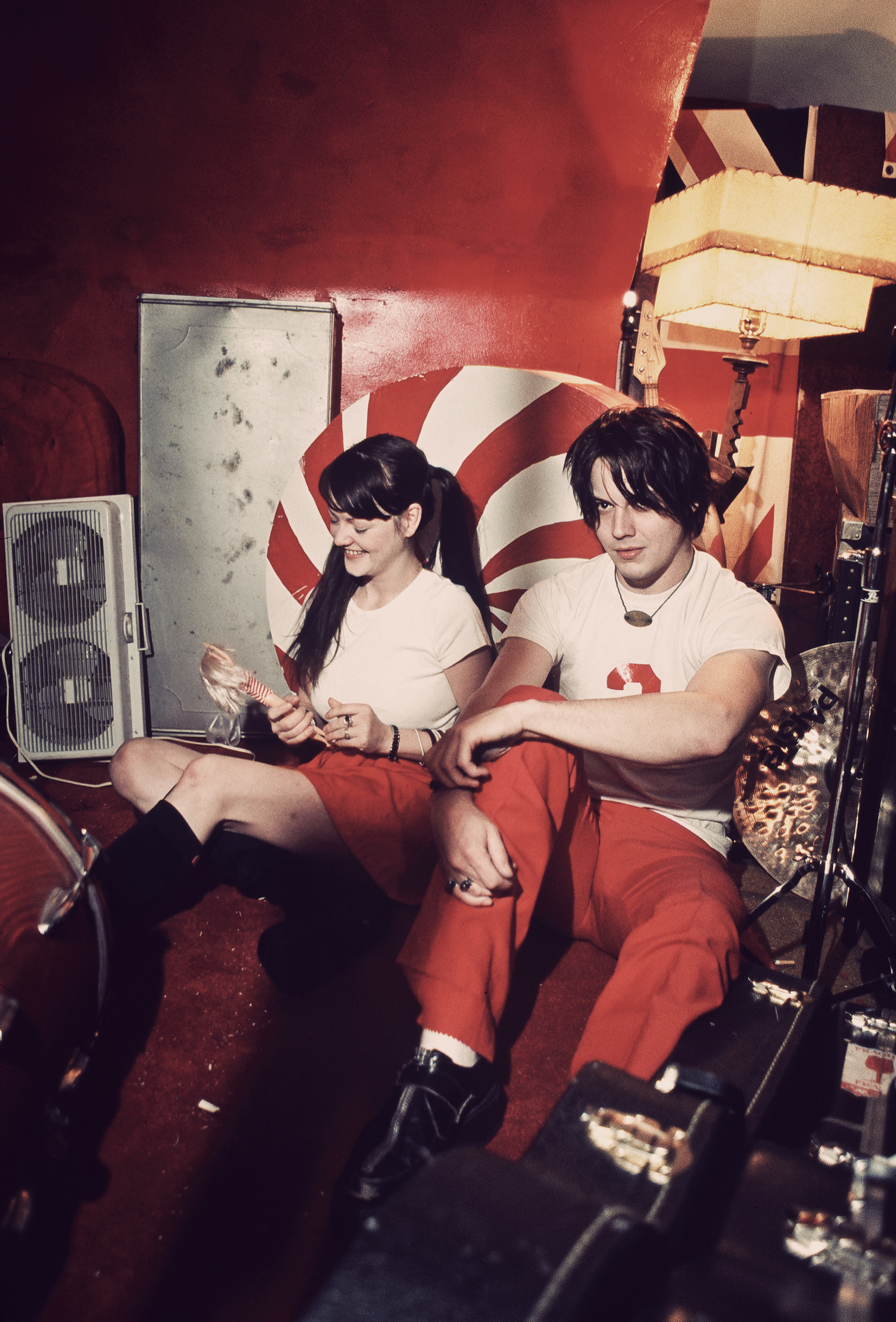 The White Stripes, Detroit, 2001.