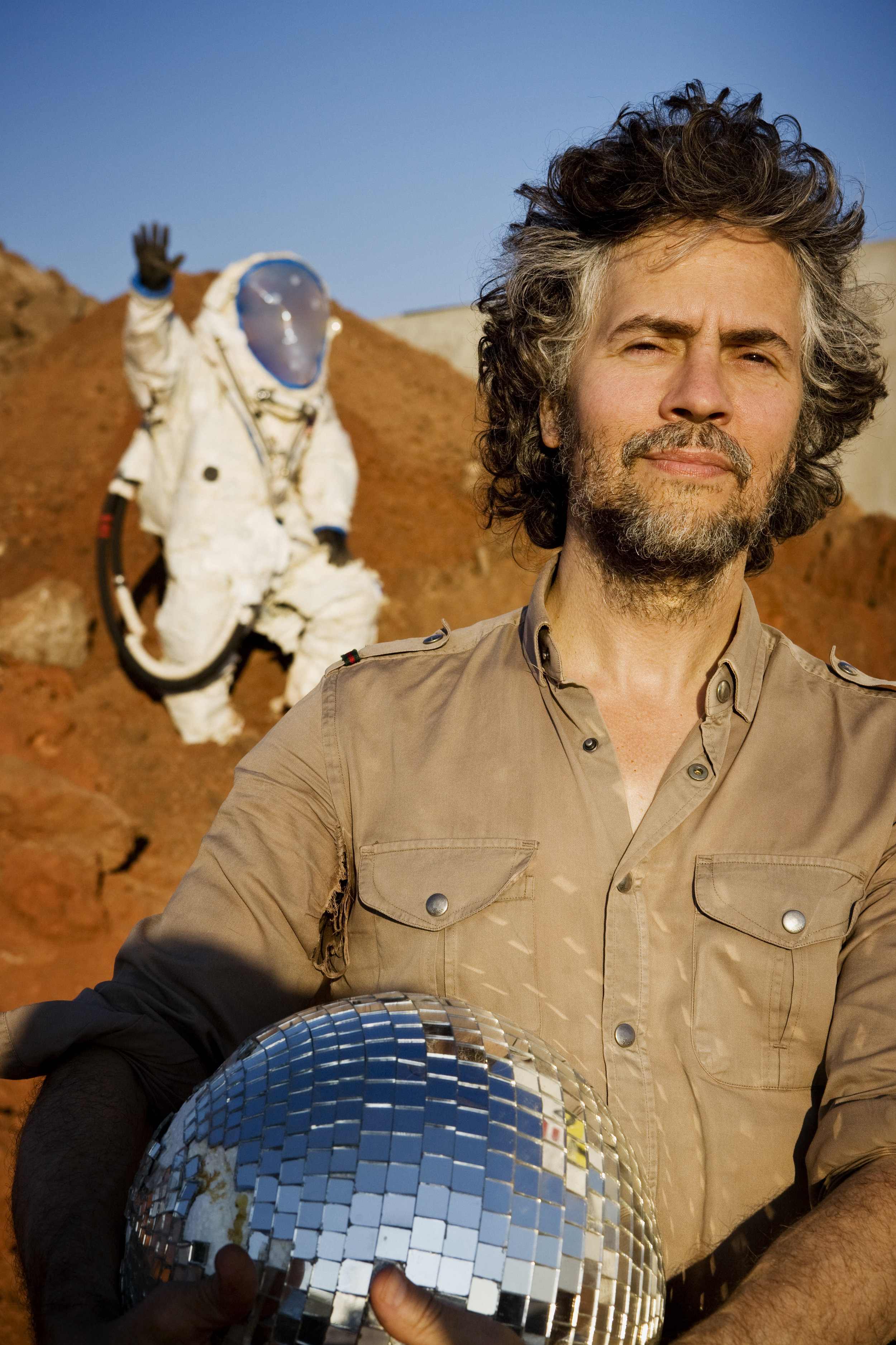 Wayne Coyne (The Flaming Lips), Oklahoma City, 2008