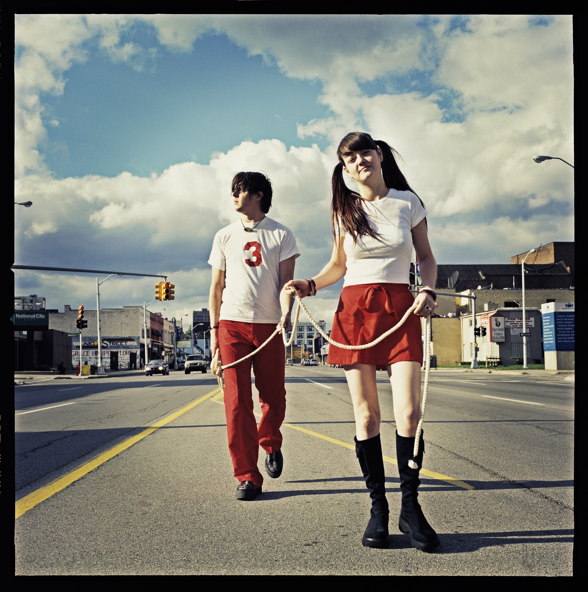 The White Stripes, Detroit, 2001