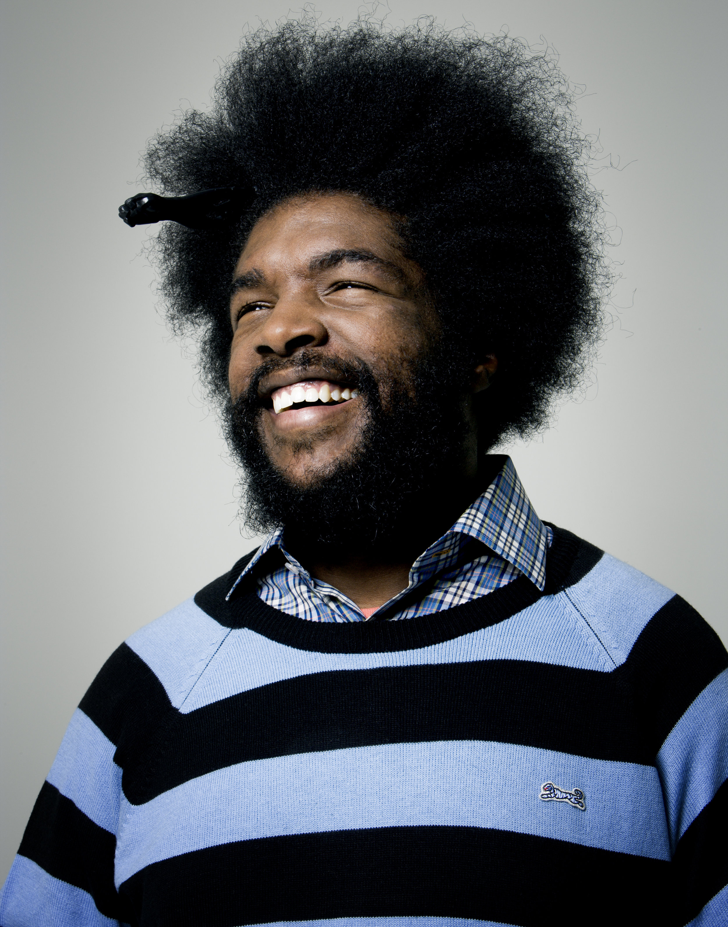 Questlove (The Roots), New York City, 2006