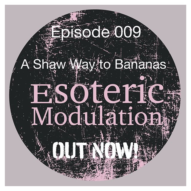 OUT NOW Episode 009 - 'A Shaw Way to Bananas'  In this week's show, we talk to multi-creative Matthew Shaw @theshawinstitute about an esoteric bunch of banana equipment! We chat about the wonders of Serge Systems, the Ciat-Lonbarde Cocoquantus and Plumbutter (of course, I get a royal ribbing from Ben about the Coco!:) We take a look at the continuity of creativity, through different creative disciplines. And we round it all off very nicely with Matthew's Band Camp album,  Leisure Complex!  #modularsynth #Synth #electronicinstrument #Synthesizers #electronicmusic #visualarts #soundart  #experimentalmusic  #itunes  #spotify  #stitcher #podcast  #eurorack #liveperformancecase @esotericmodulation #bandcamp #newpodcast #CiatLonbarde #Serge