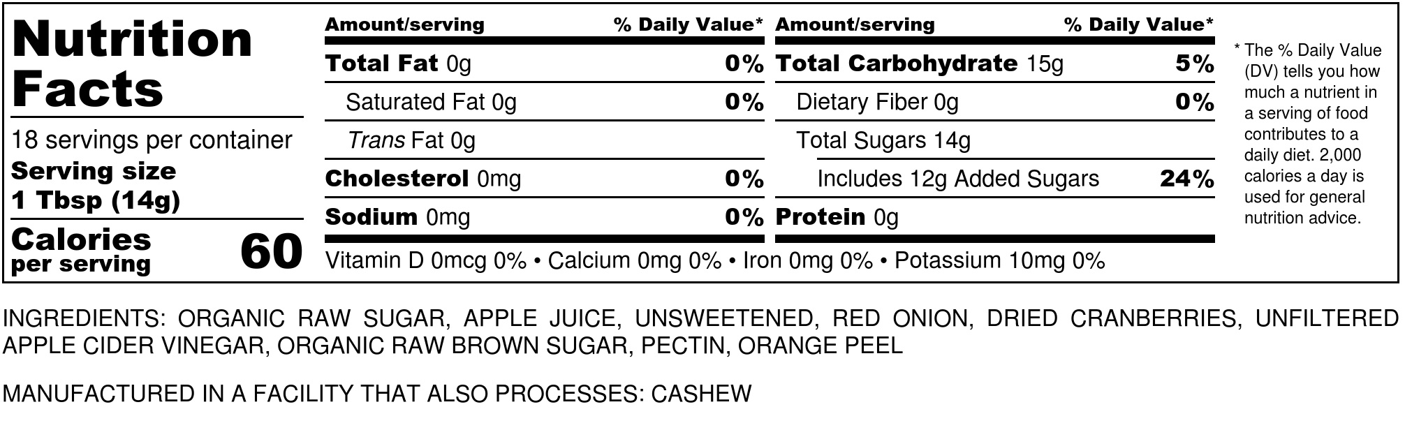 Red Onion Marmalade - Nutrition Label.jpg