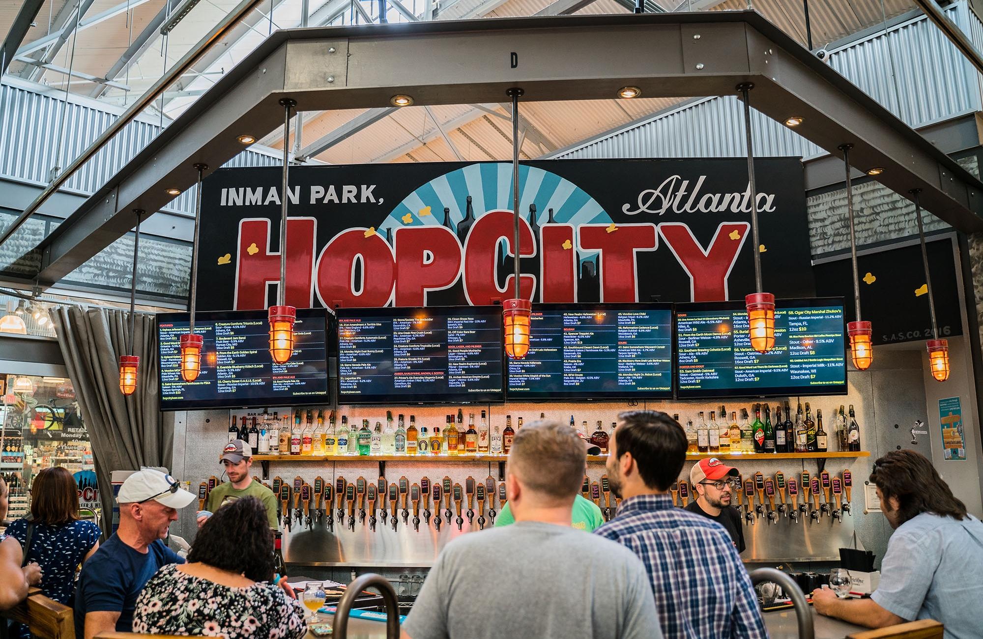 Hop City Inman Park - Atlanta Georgia