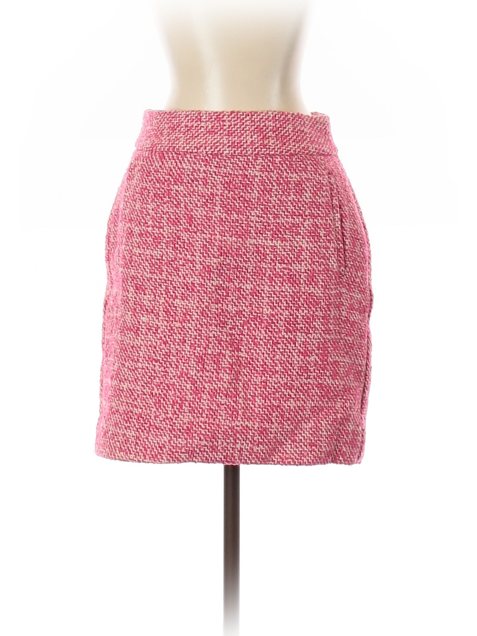 Banana Republic Pink Tweed Skirt , 26.99  Pair with a black turtleneck and knee-high boots.