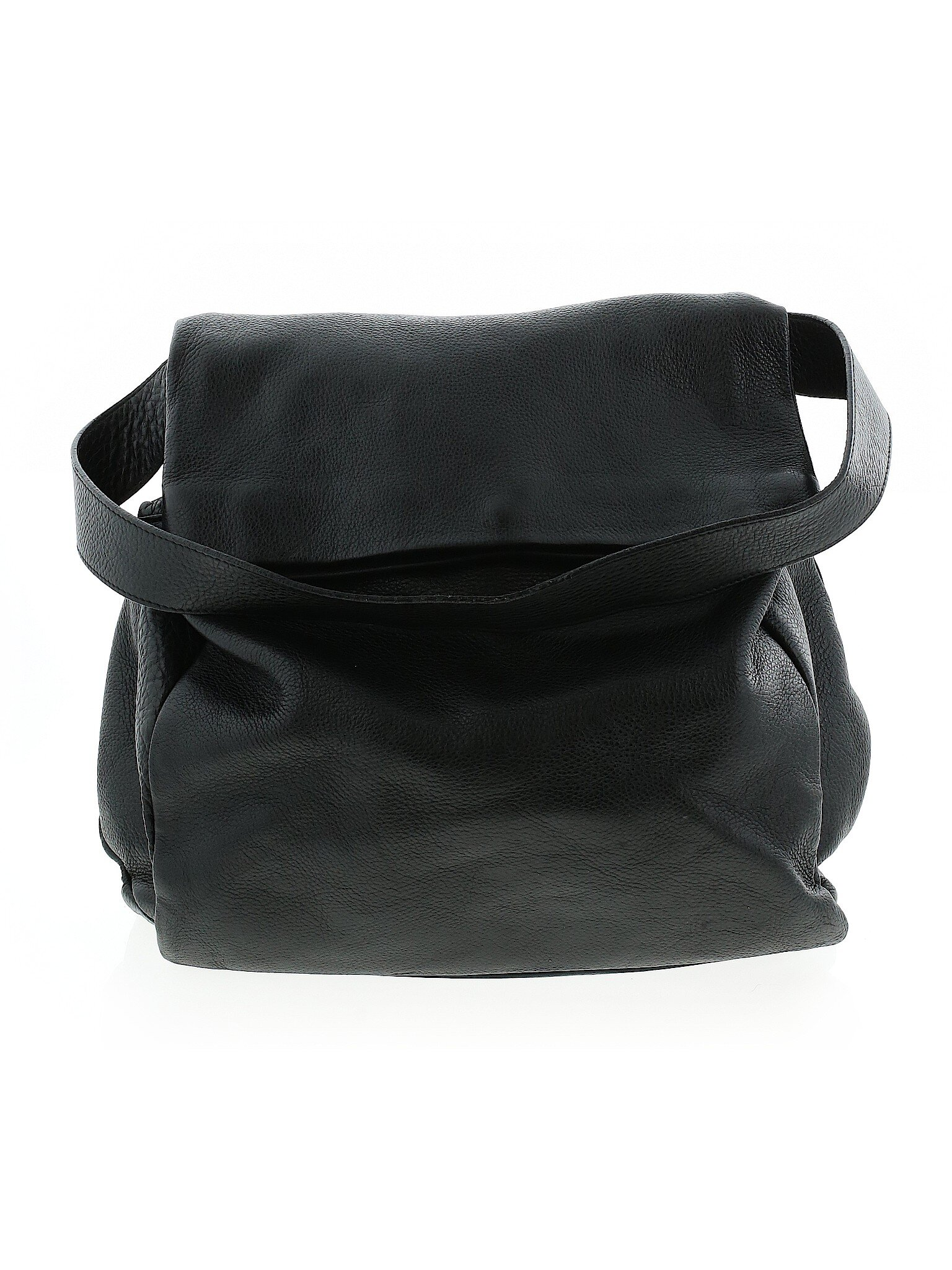 & Other Stories Black Leather Shoulder Bag  , 41.99  A simple a practical bag that's a more interesting take on a tote bag.