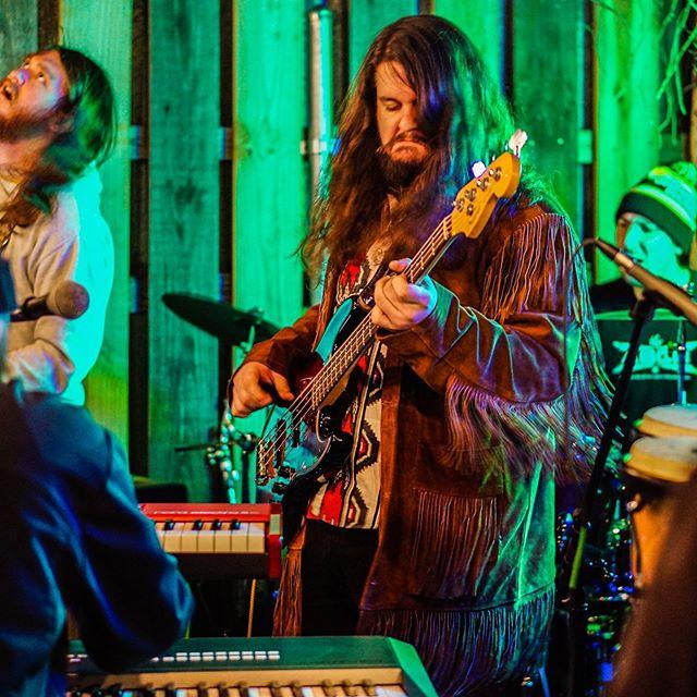 Who's making the funniest face?🤔 📸 @thebackstagevoice . . . #koodookrew #koodookoo #jam #funk #stank #stankface #bassface #funkface #pocket #groove #nasty #jamband #jambands #rock #southernrock #progrock #progressiverock #psychrock #psychedelicrock