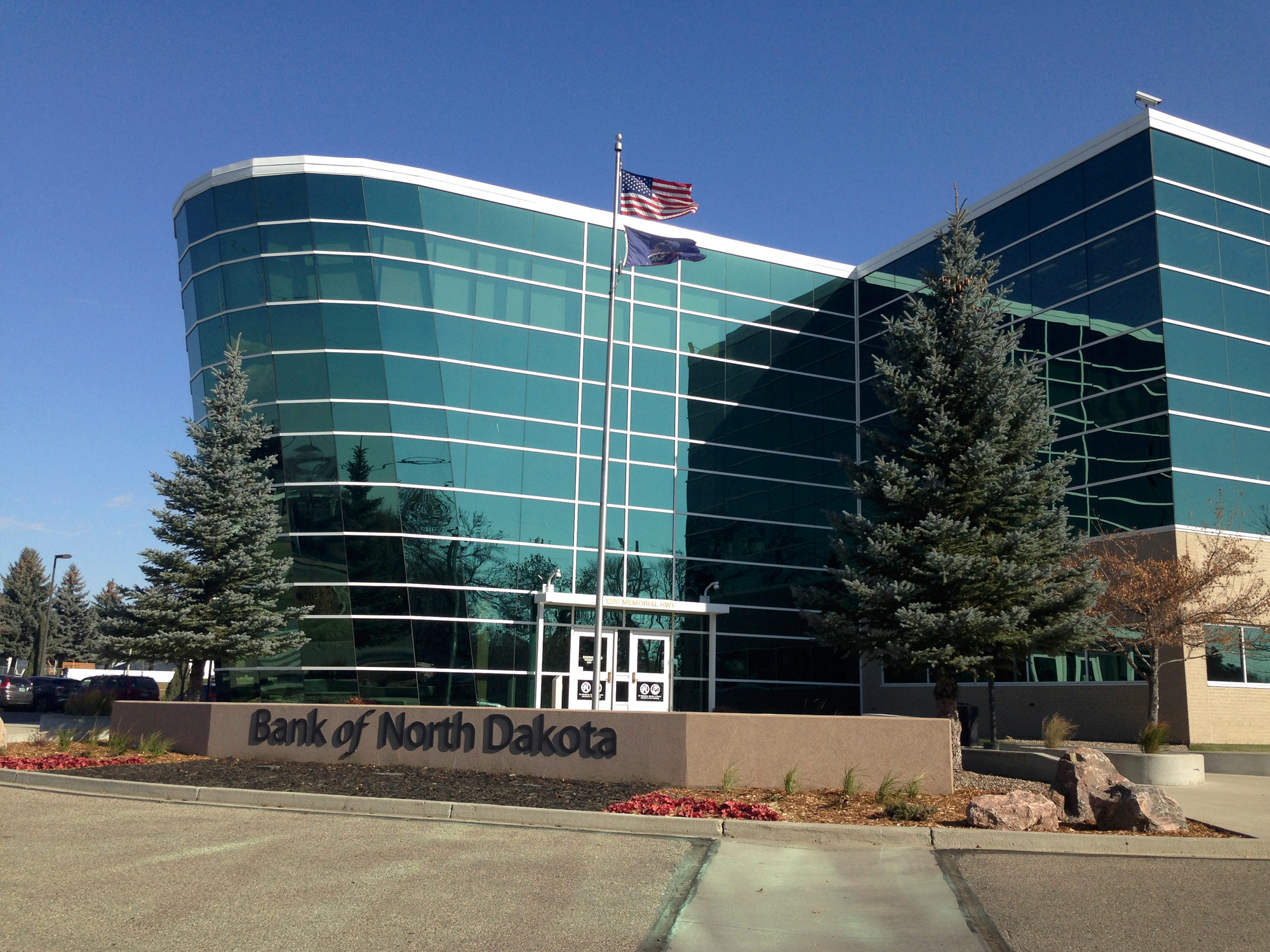 Bank of North Dakota, the only state-run bank in the US