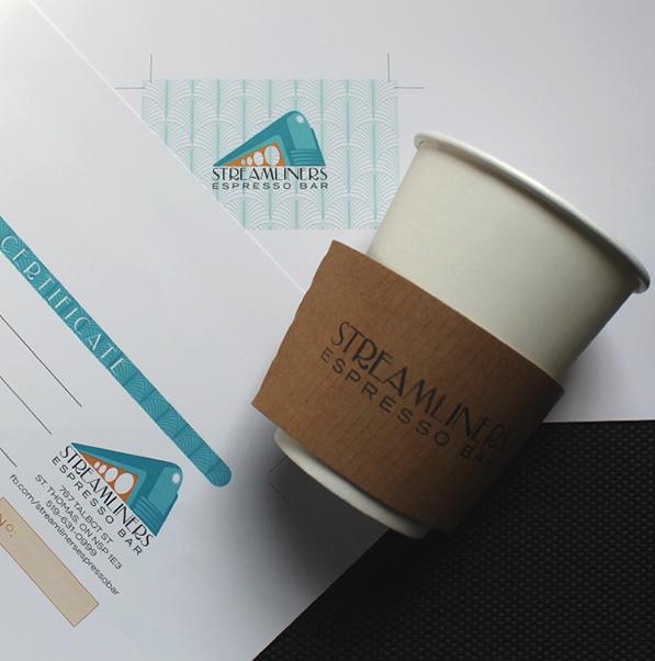 Espresso Bar Coffee Shop Branding Packaging