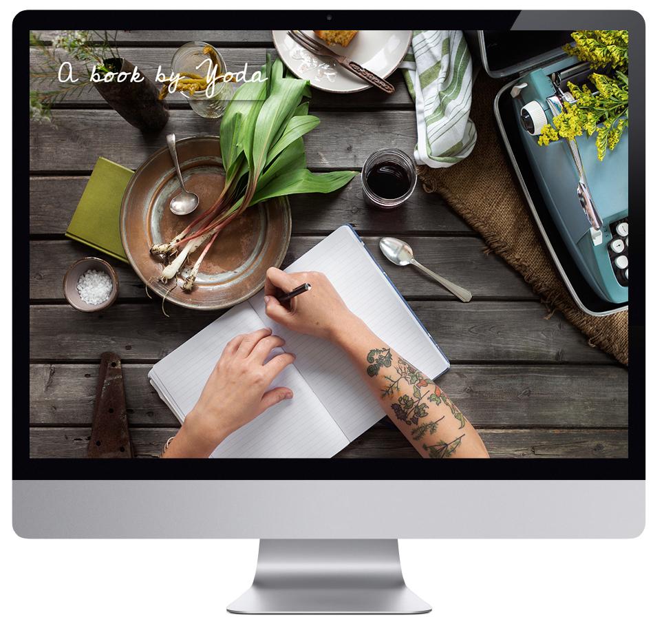Art direction, website design