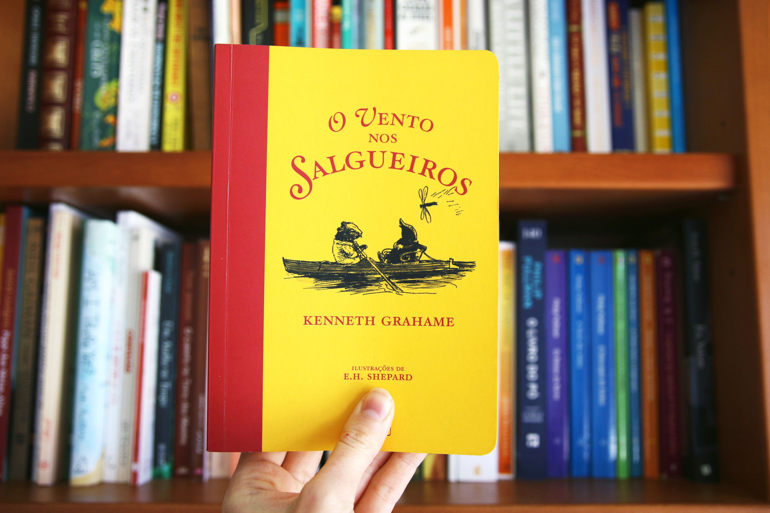 "The Portuguese edition of ""The Window in the Willows"", by Kenneth Grahame"