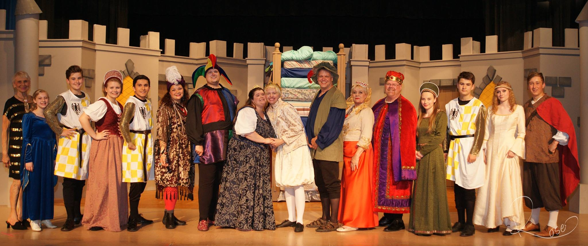 Once Upon A Mattress June 1 - June 10, 2018 Clintonville, WI