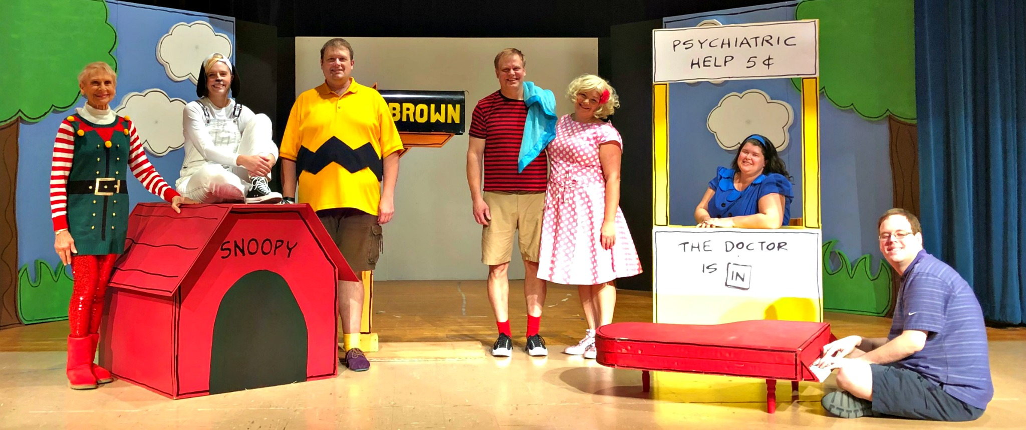 You're A Good Man, Charlie Brown November 30 - December 9, 2018 Clintonville, WI