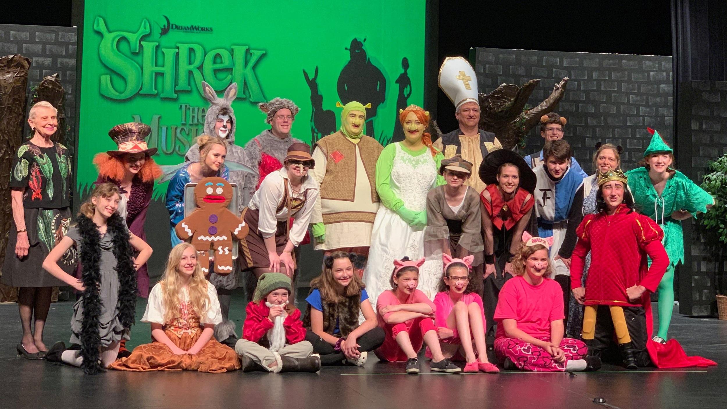 SHREK The Musical June 7 - June 16, 2019 Clintonville, WI
