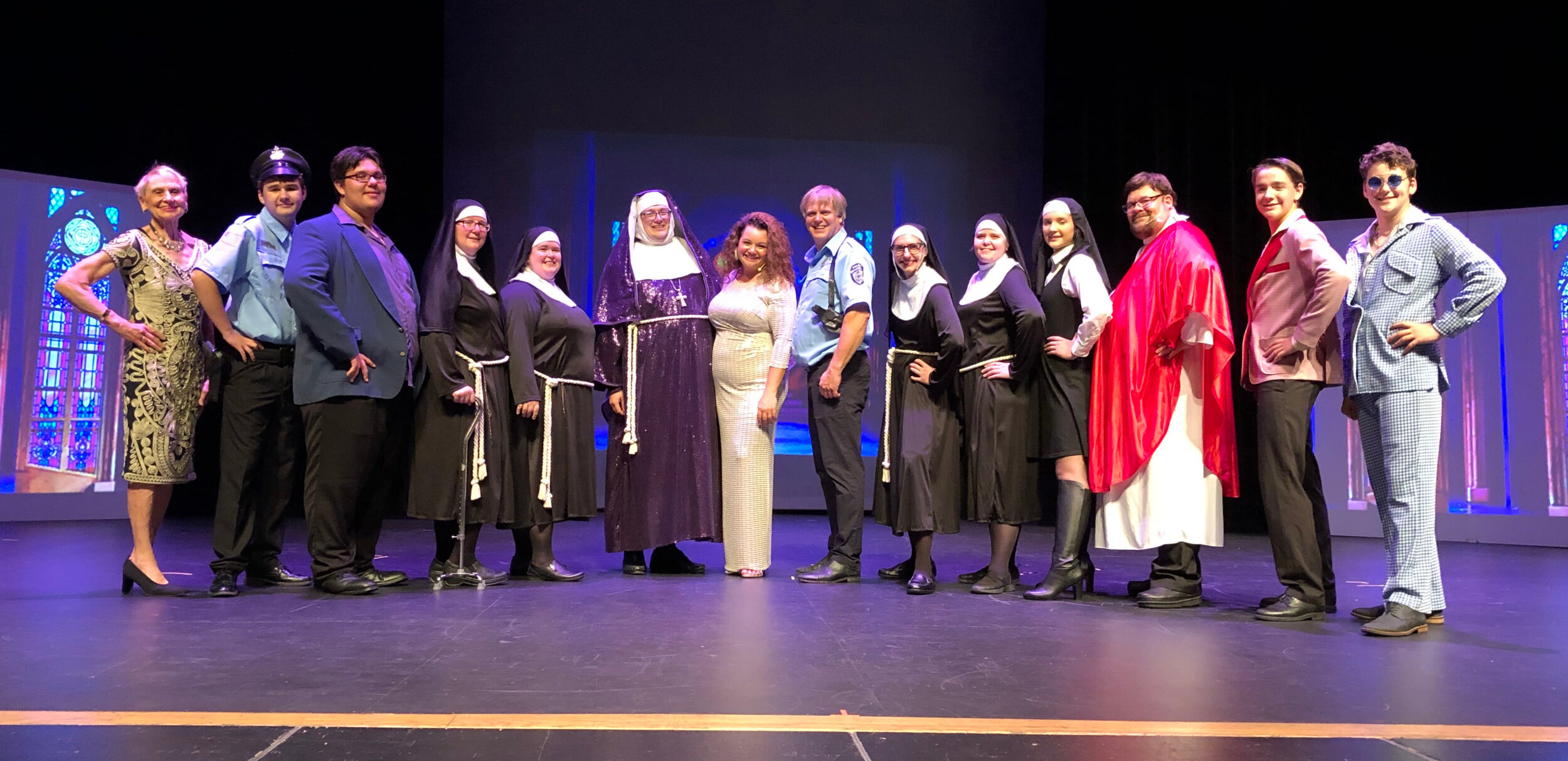 Sister Act August 9 - August 18, 2019 Oconto Falls, WI