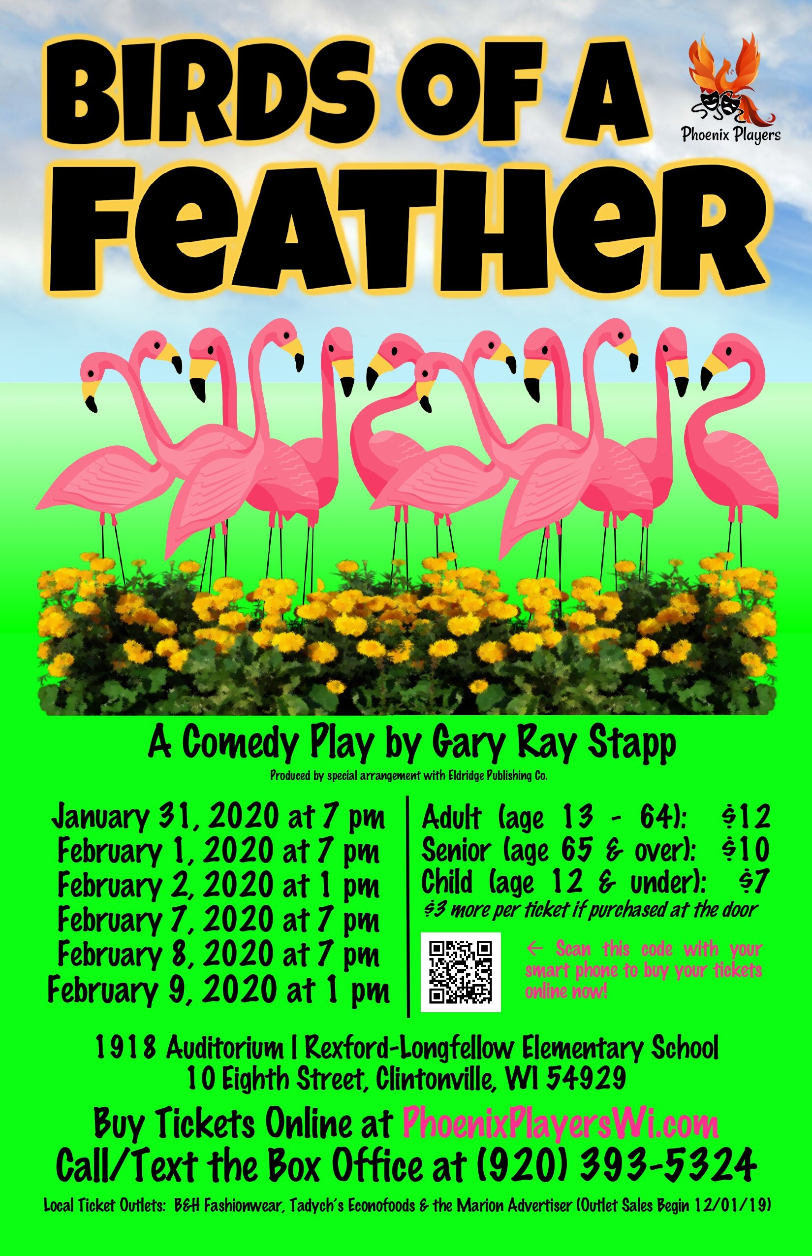 Birds Of A Feather Poster - Phoenix Players - Color.jpg