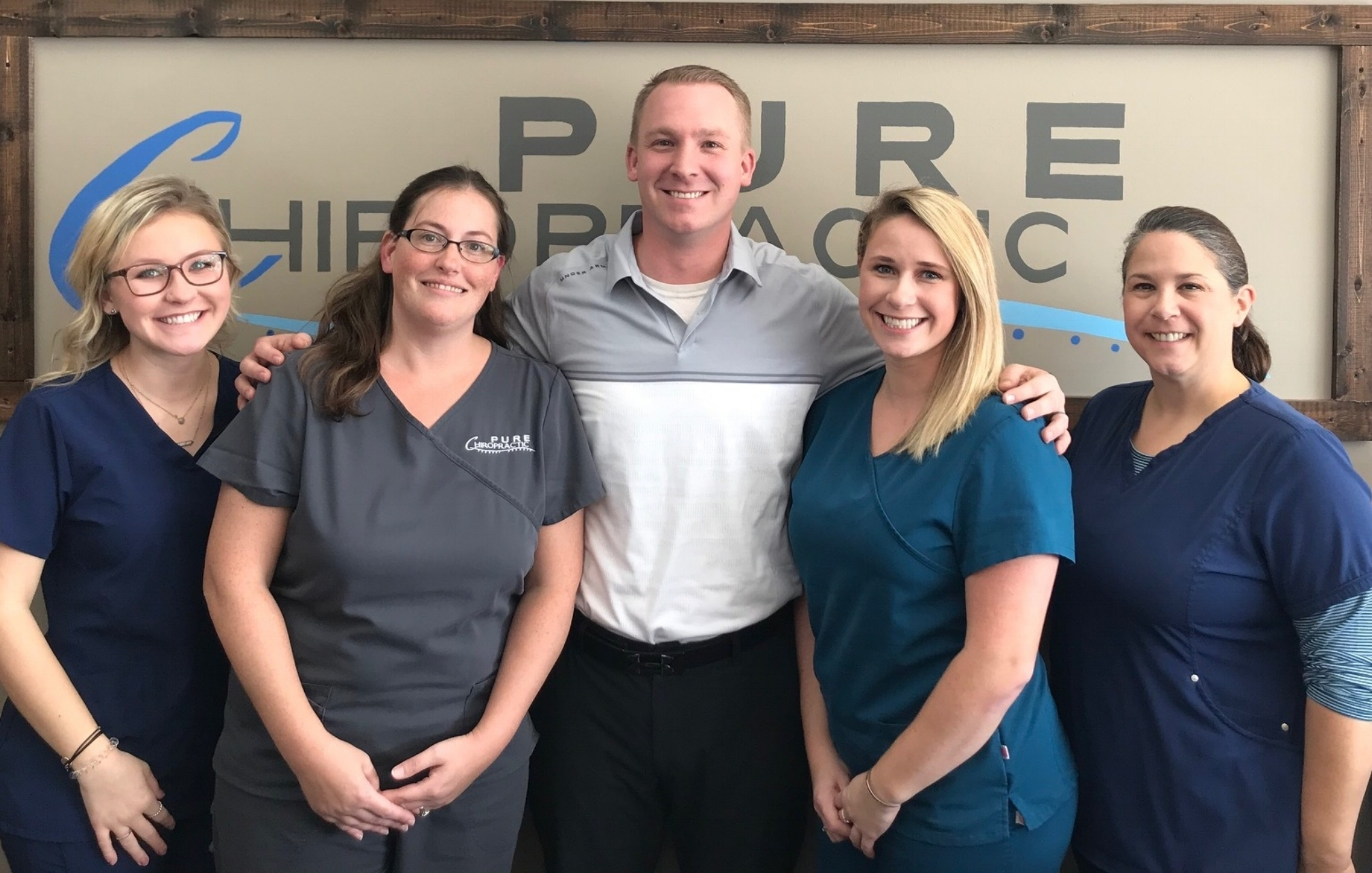 Meet our team - We work as a team to help our practice members and families achieve optimal health.