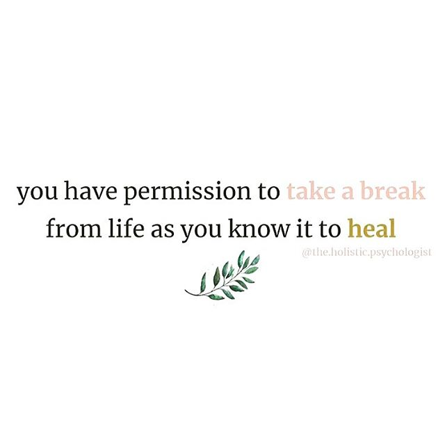 I think we all forget this from time to time. Slow down. Rest. It will all be there when you come back. . . You are important. Take care of you 🌿
