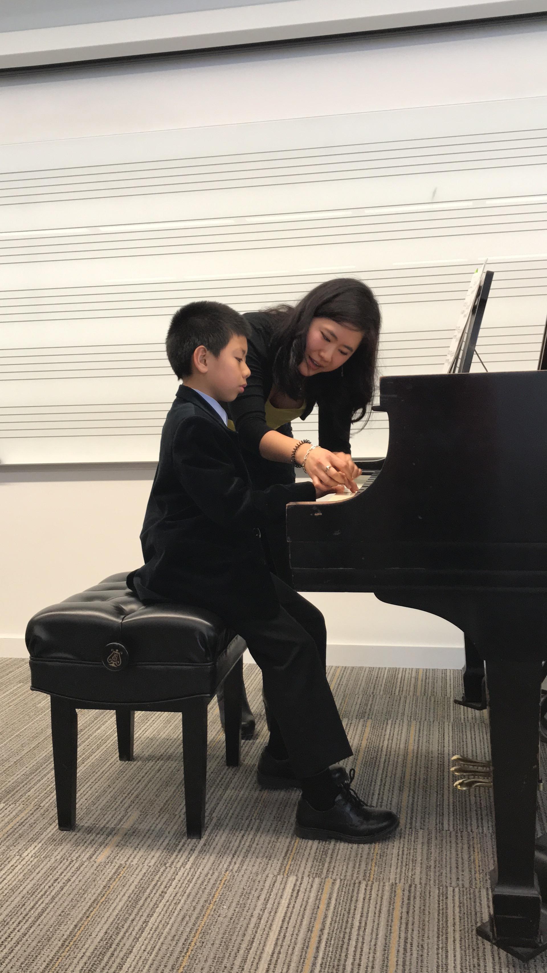 Masterclass at the UIowa Pre-College Piano Conservatory (Iowa City, IA)