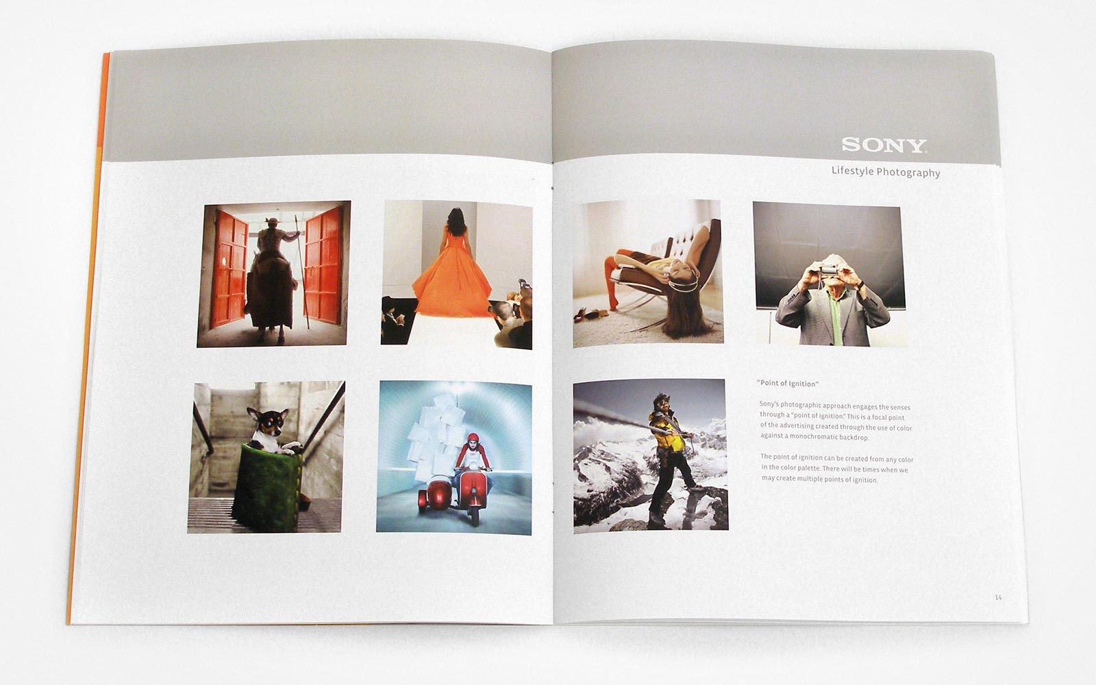 Sony Design Guidelines – Photography