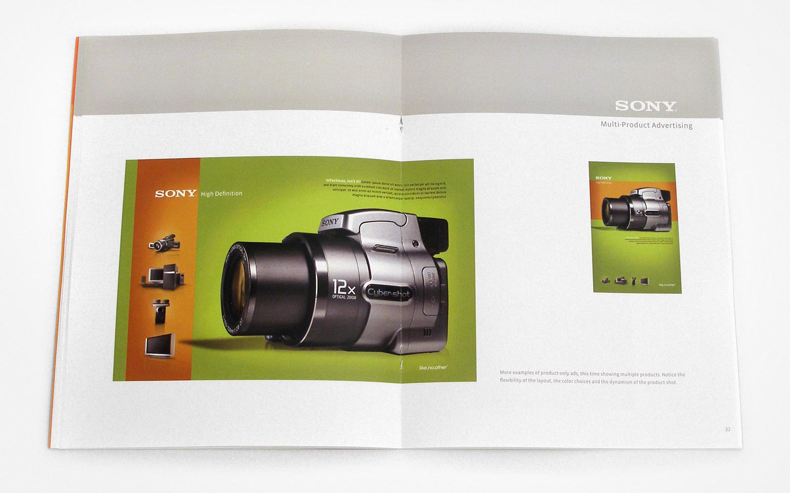 Sony Design Guidelines – Product Advertising