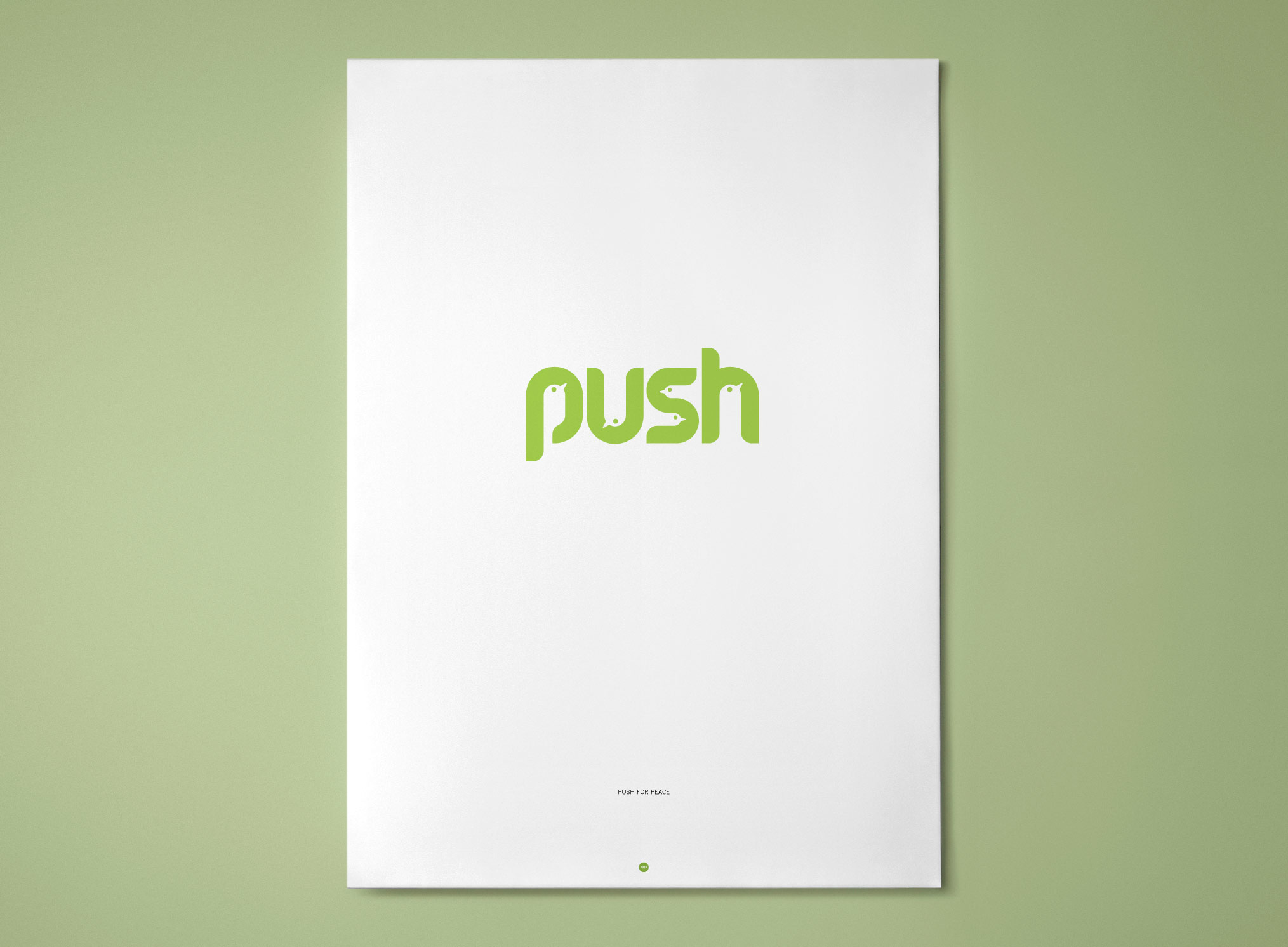 PUSH – Push For Peace poster