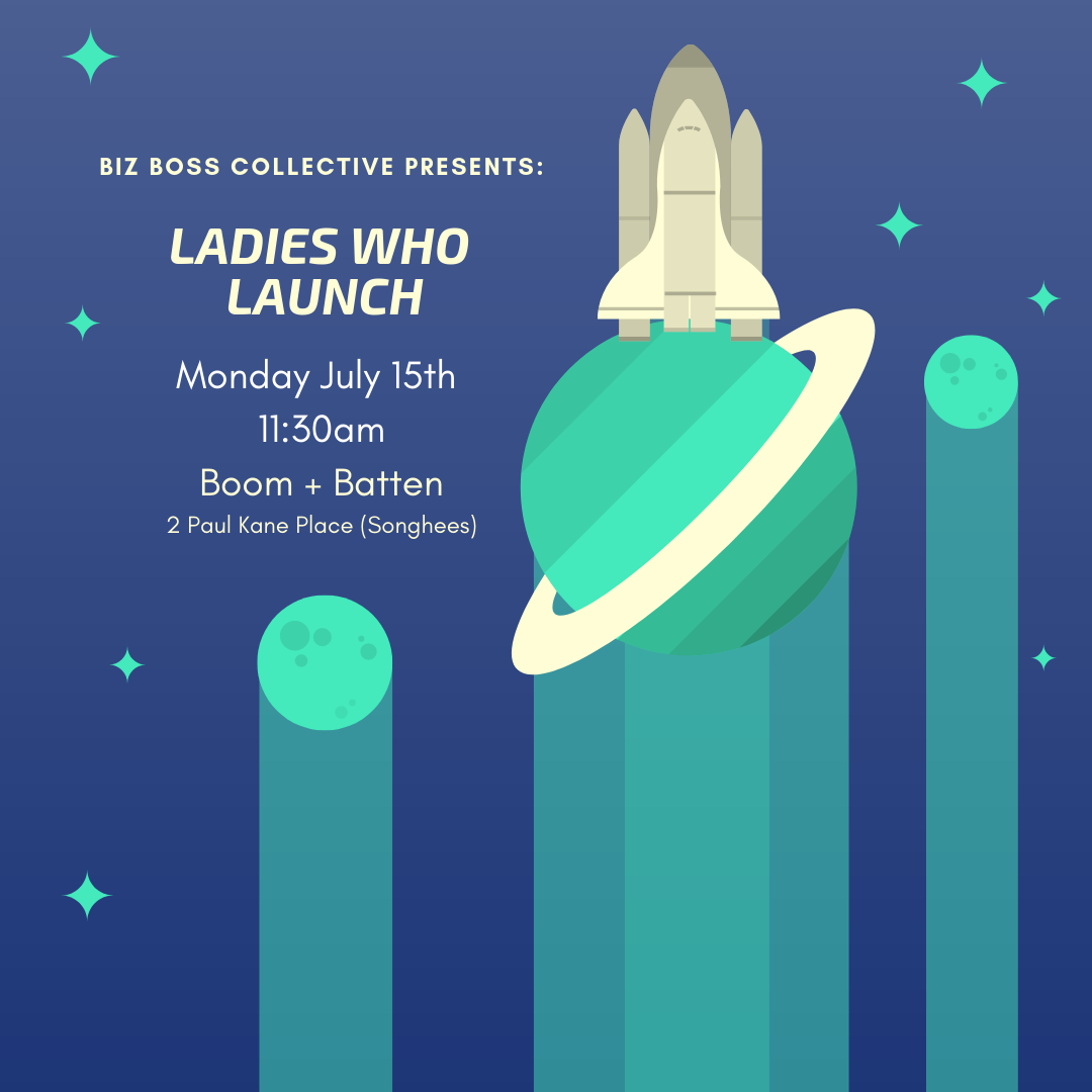Ladies who launch(lunch series) - Join us for lunch to share your exciting new project (or here about others)!Monday, July 15th at 11:30amBoom + Batten2 Paul Kane Place (Songhees)Please RSVP here15 tickets available. Non-members welcome.