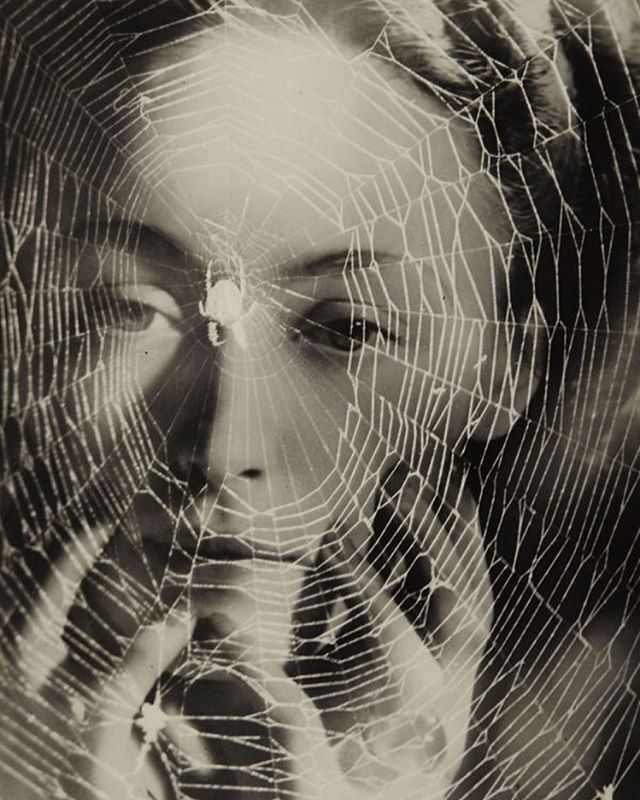 "it's my birthday and all I see is this brilliant image by Dora Maar (an ad for anti-wrinkle cream), one of my favorites from her retrospective @ the Pompidou: «Les années vous guettent » // ""The Years are Waiting for You"" (c. 1935)"