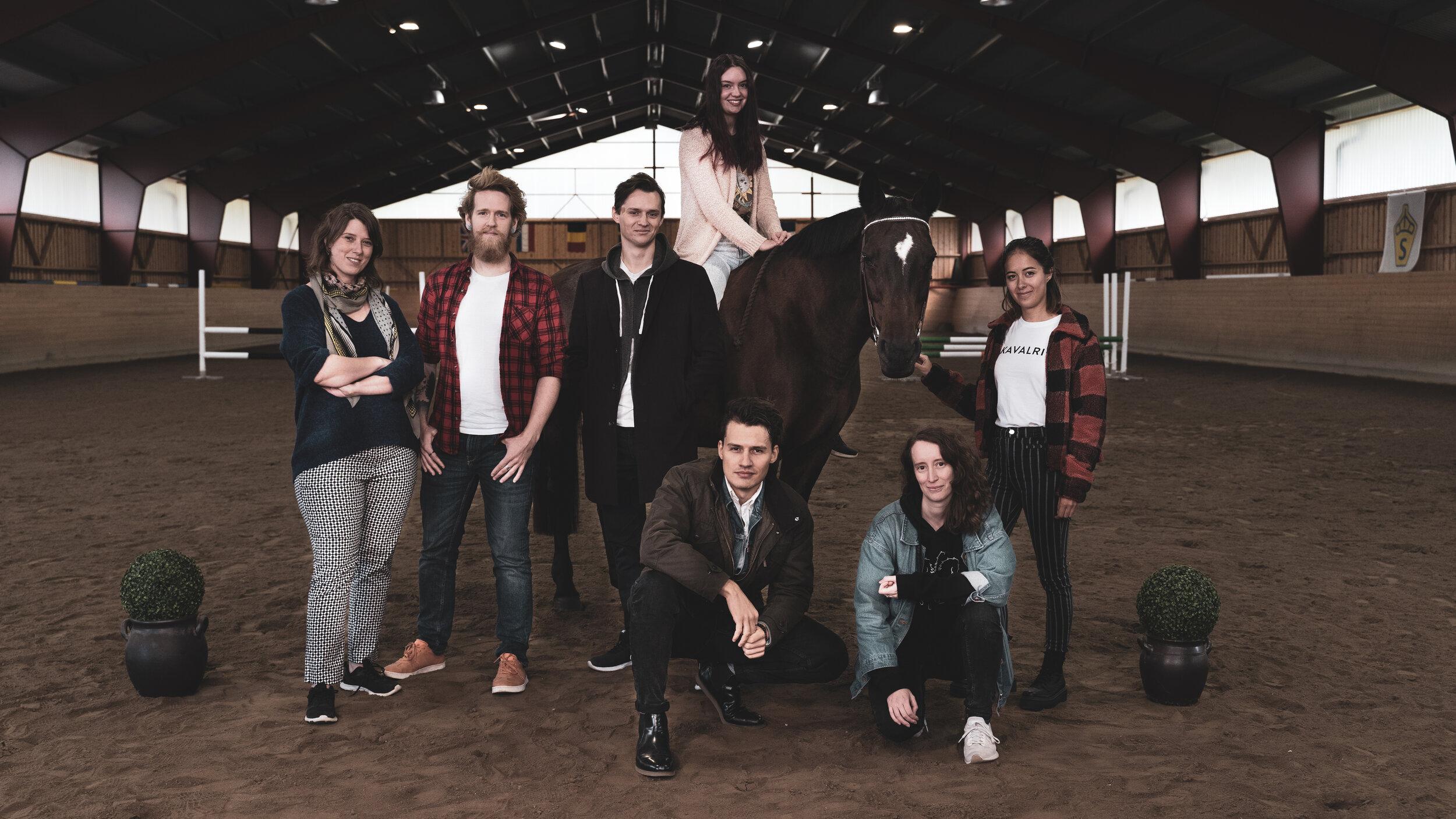 We love games… - We love horses