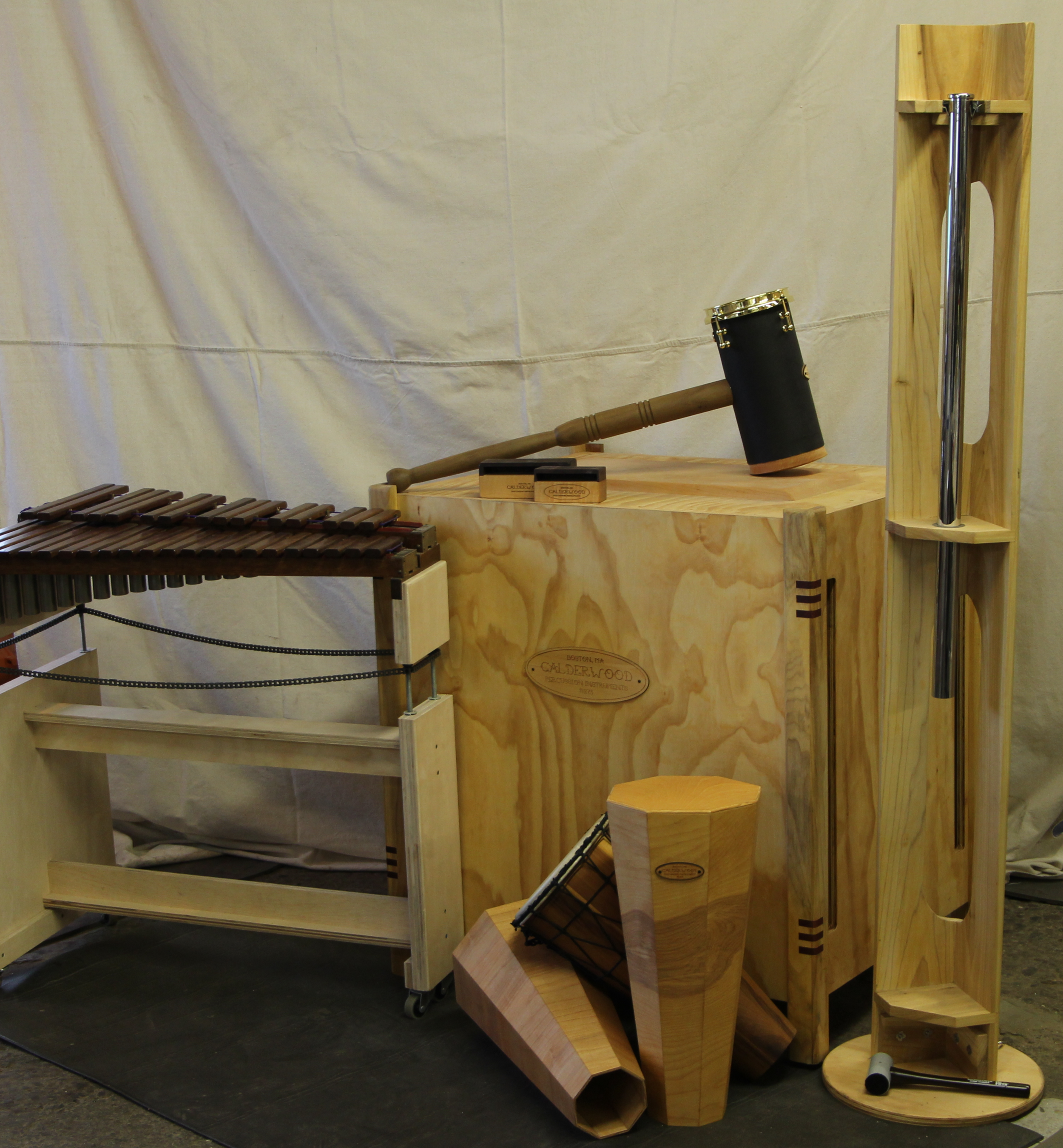 Concert percussion creations