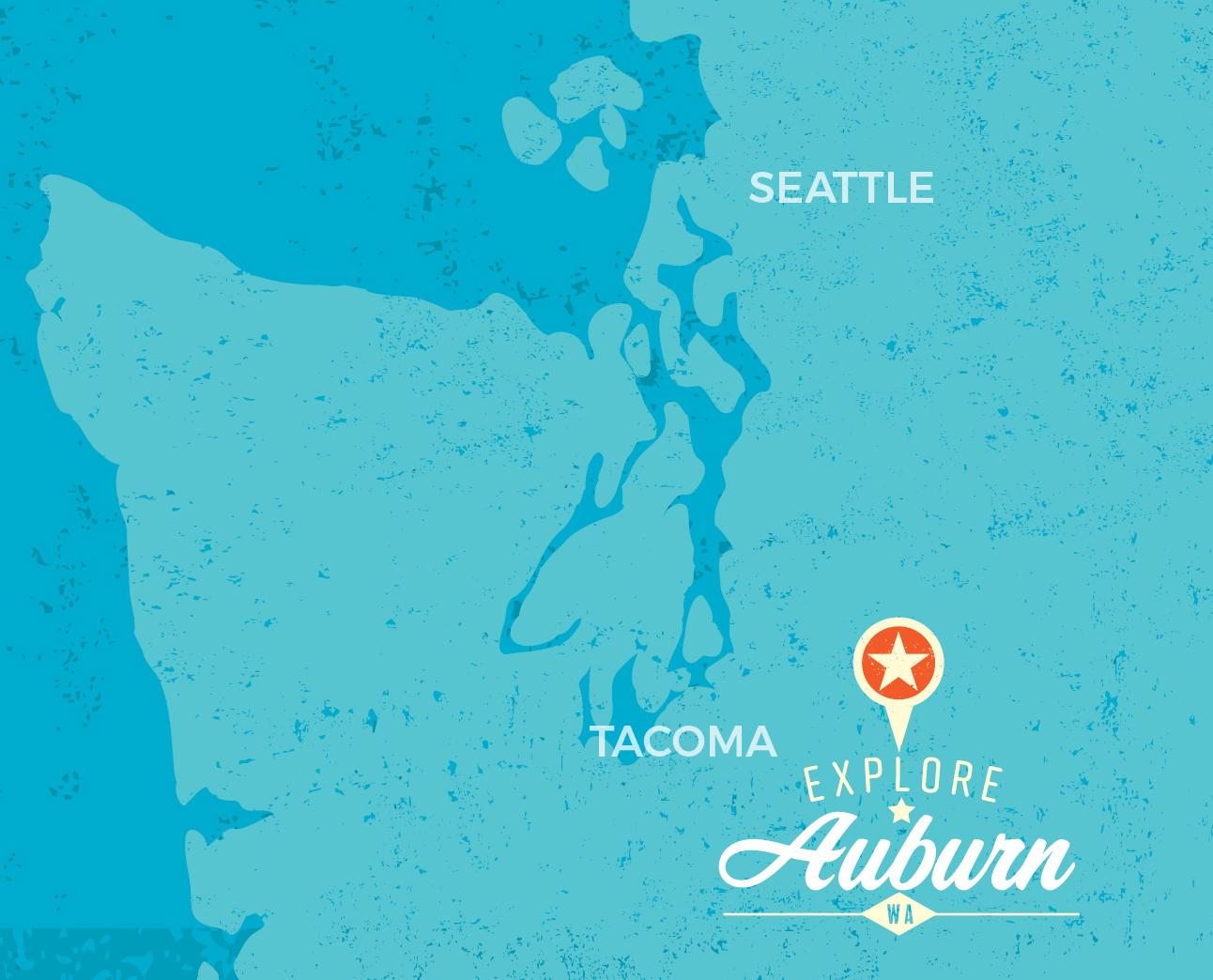 Auburn on the Map