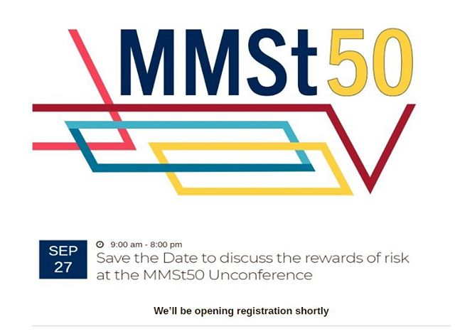 Calling all MMSt alumni. Please mark your calendars and help us spread the word about the fabulous upcoming unconference