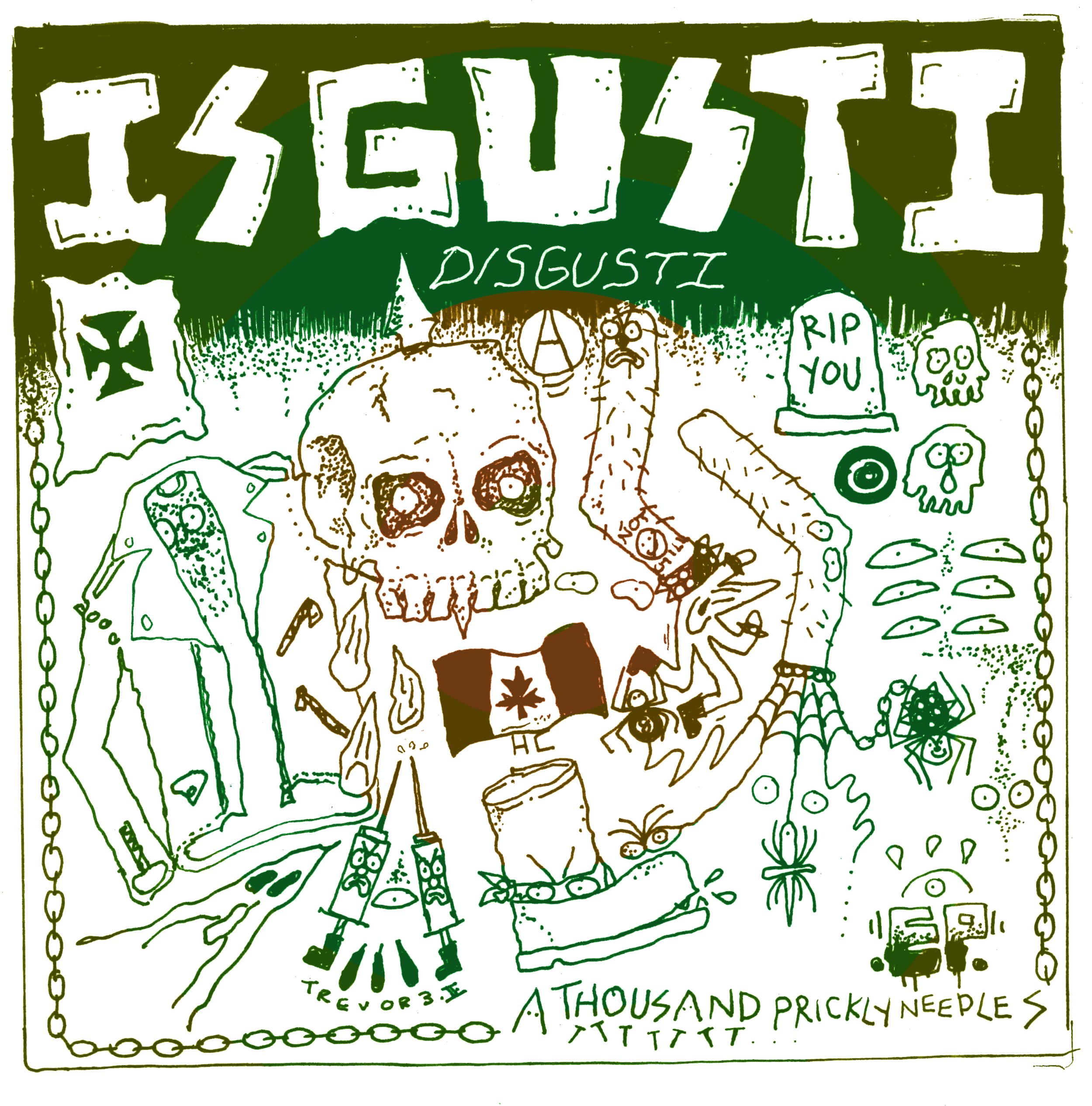 - Disgusti - A Thousand Prickly Needles EPHFI - 007