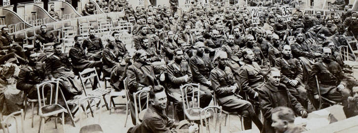 The American Legion was founded in 1919 by veterans returning from Europe after World War I, and was later chartered under Title 36 of the United States Code