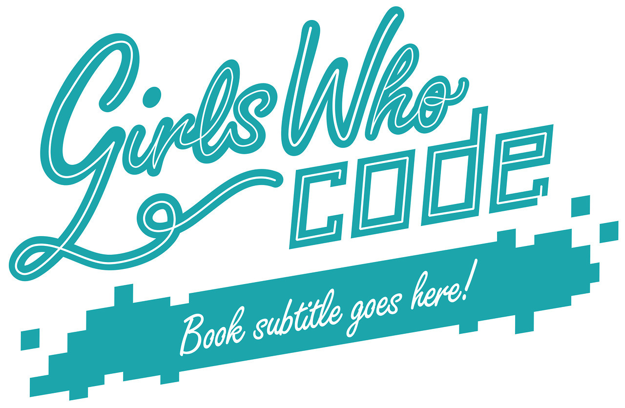 Unused branding for the Girls Who Code series.