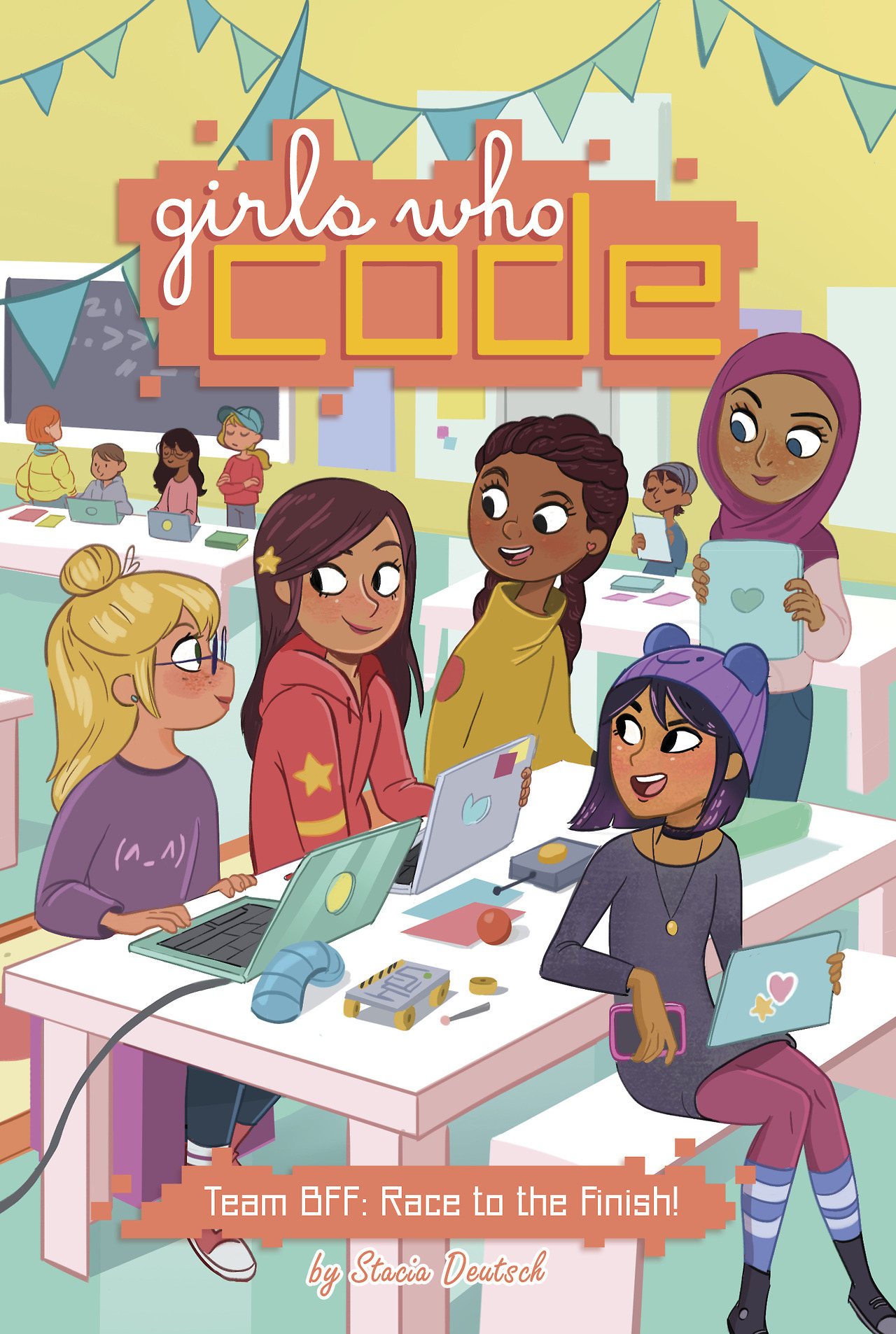 Girls Who Code: Team BFF - Race to the Finish