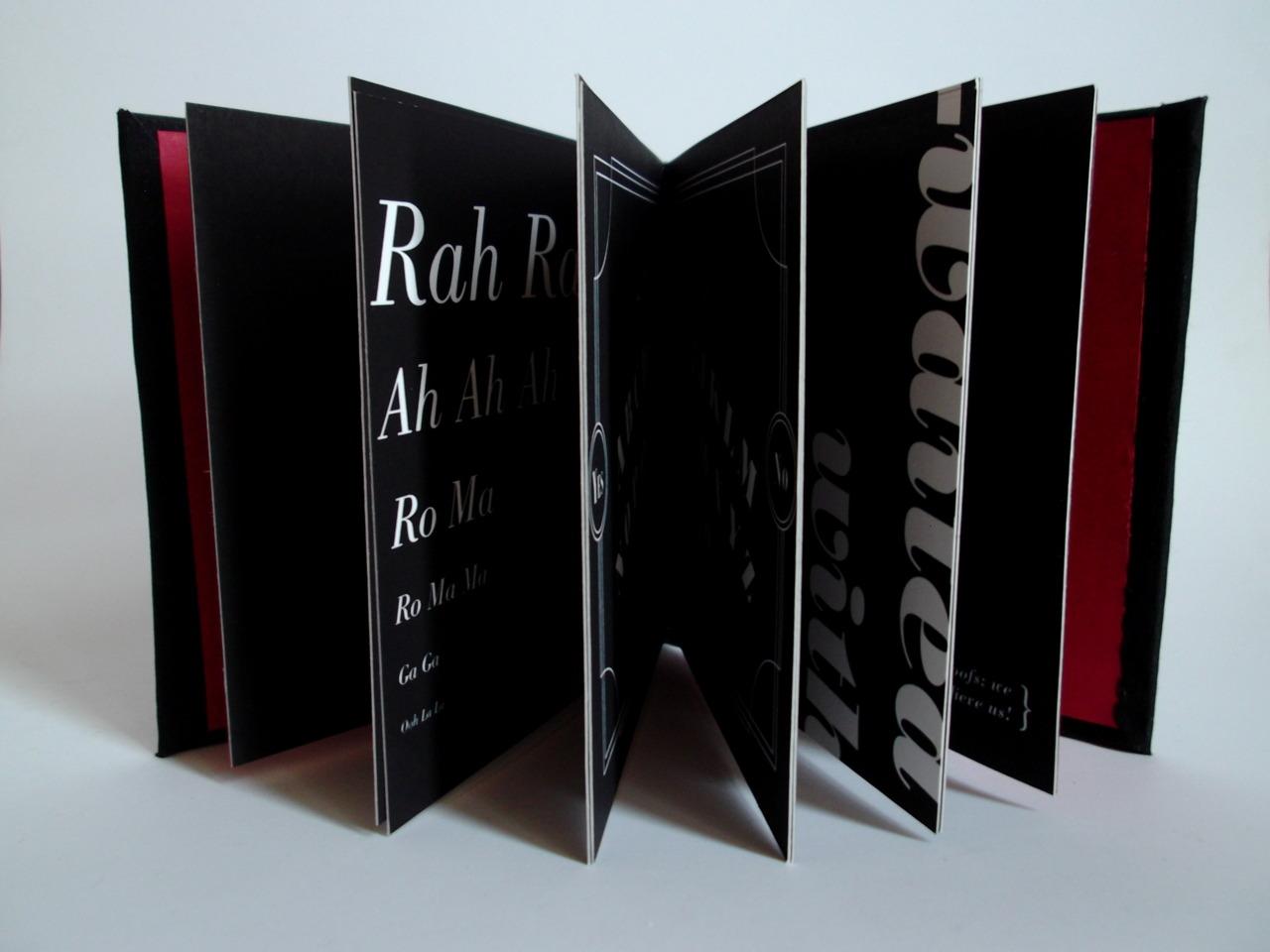 Type specimen book - Bodoni