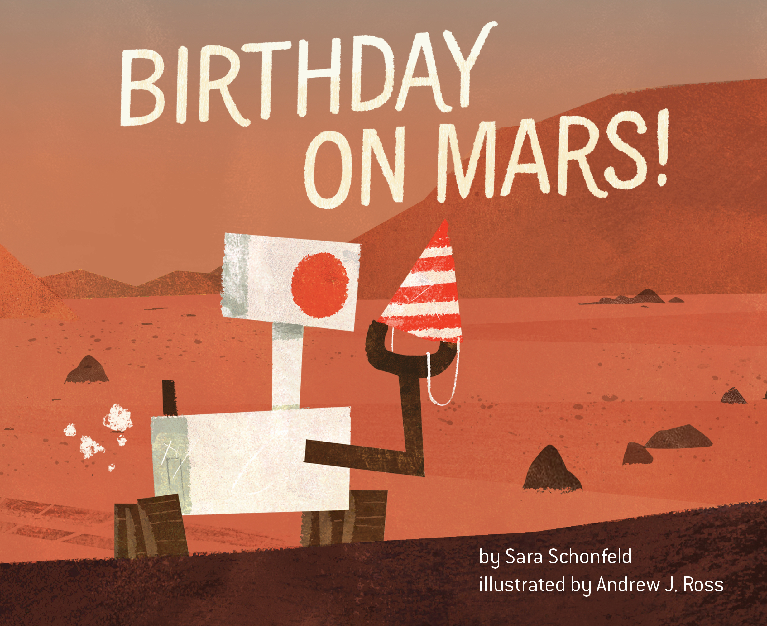 Birthday on Mars - Cover