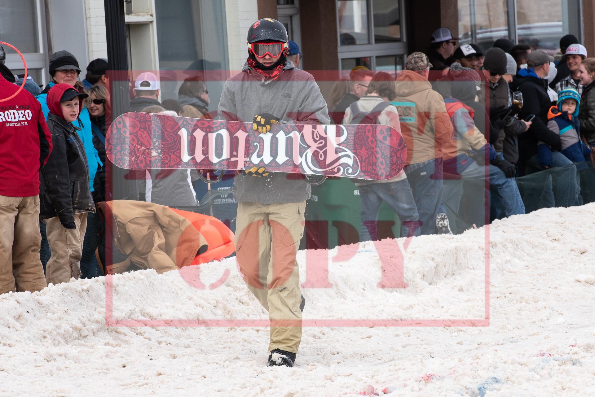 - Taylor Townsend - Snowboard 4