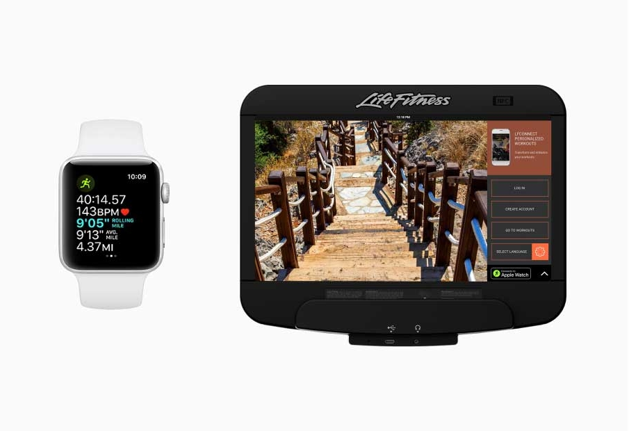 Apple Watch Integration - With the release of Apple's GymKit, Life Fitness integrated Apple Watch connectivity to provide a well-rounded experience for users.