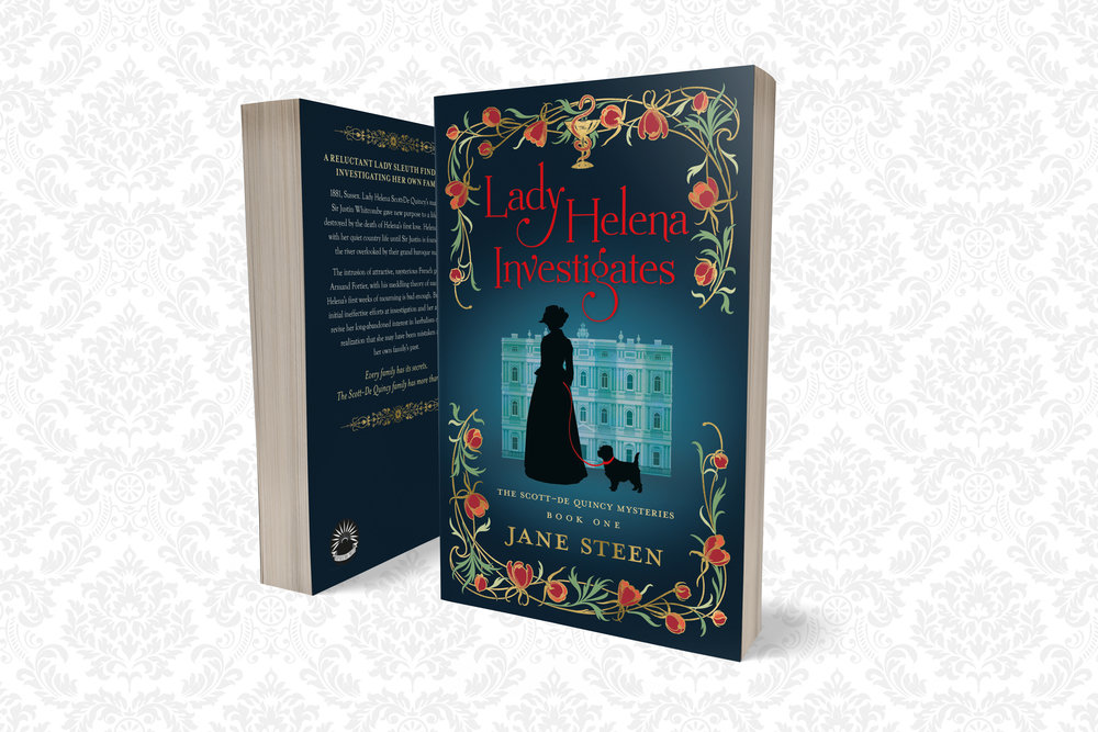 Read the first four chapters of Lady Helena Investigates for free - Ebook download via BookFunnel