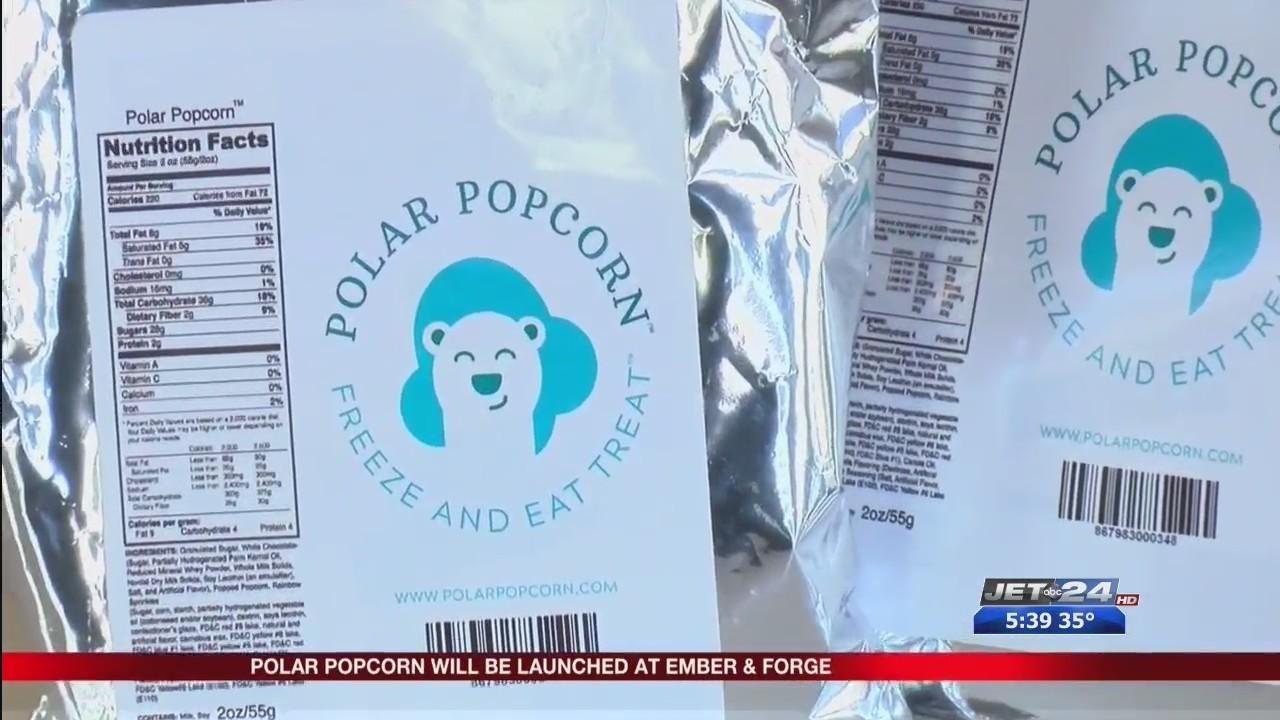 Polar Popcorn's Packaging