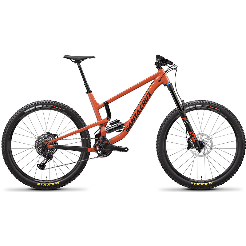 DEMO FOR SALE, CALL FOR PRICING.    SANTA CRUZ NOMAD:  170MM OF TRAVEL   GOOD FOR:  PARK, ENDURO, ALL MOUNTAIN   DEMO SIZE:  M