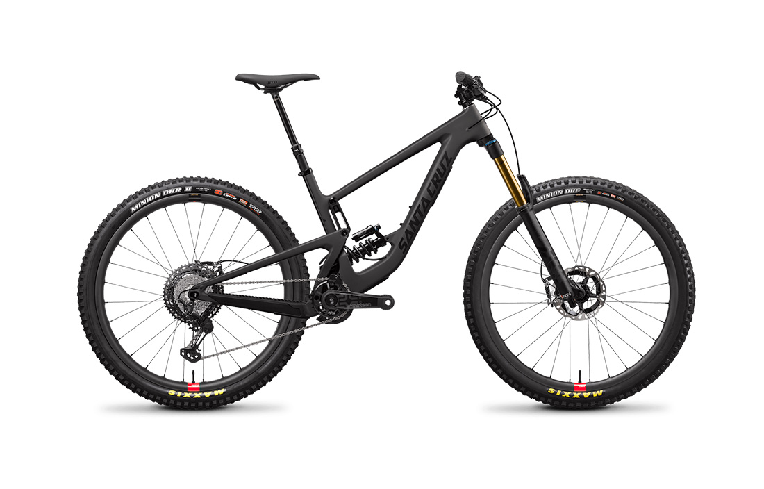 SANTA CRUZ MEGATOWER:  160MM OF TRAVEL  GOOD FOR: PARK, ENDURO, ALL MOUNTAIN   DEMO SIZE:  M