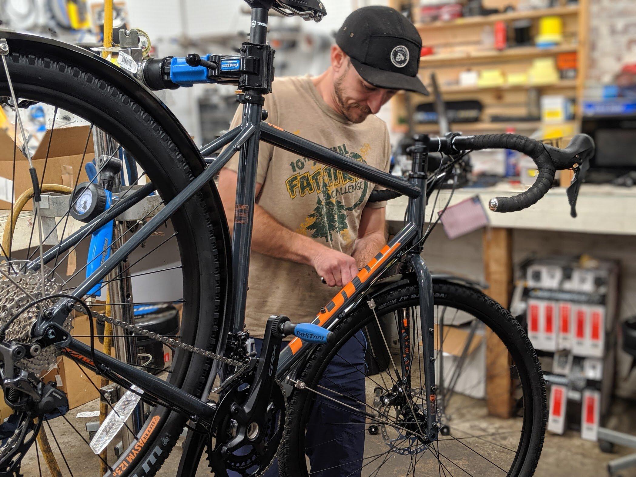 Schedule Your Bike Tune Up Flat Tire Co Bike Shop