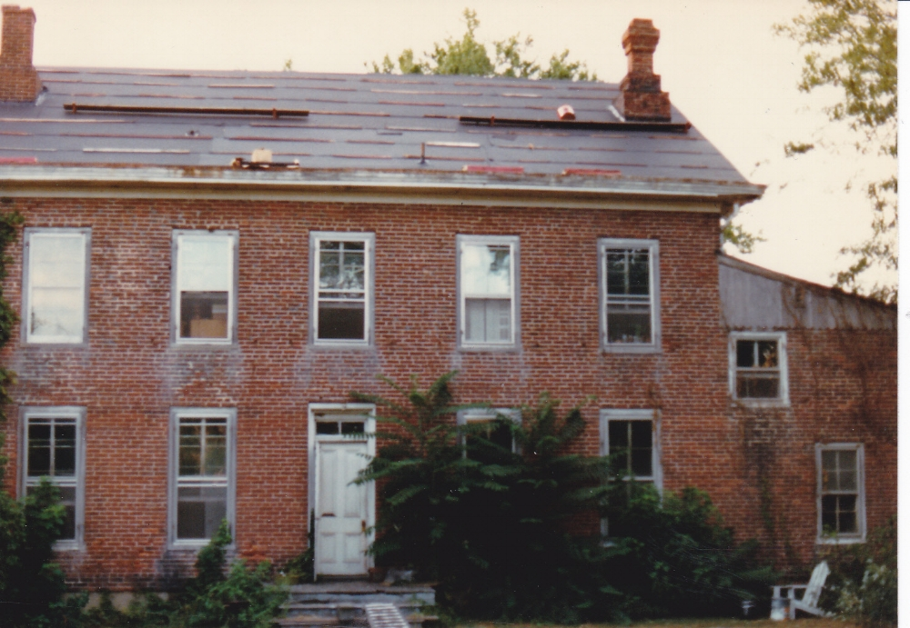 Replacing the roof was the very first project.