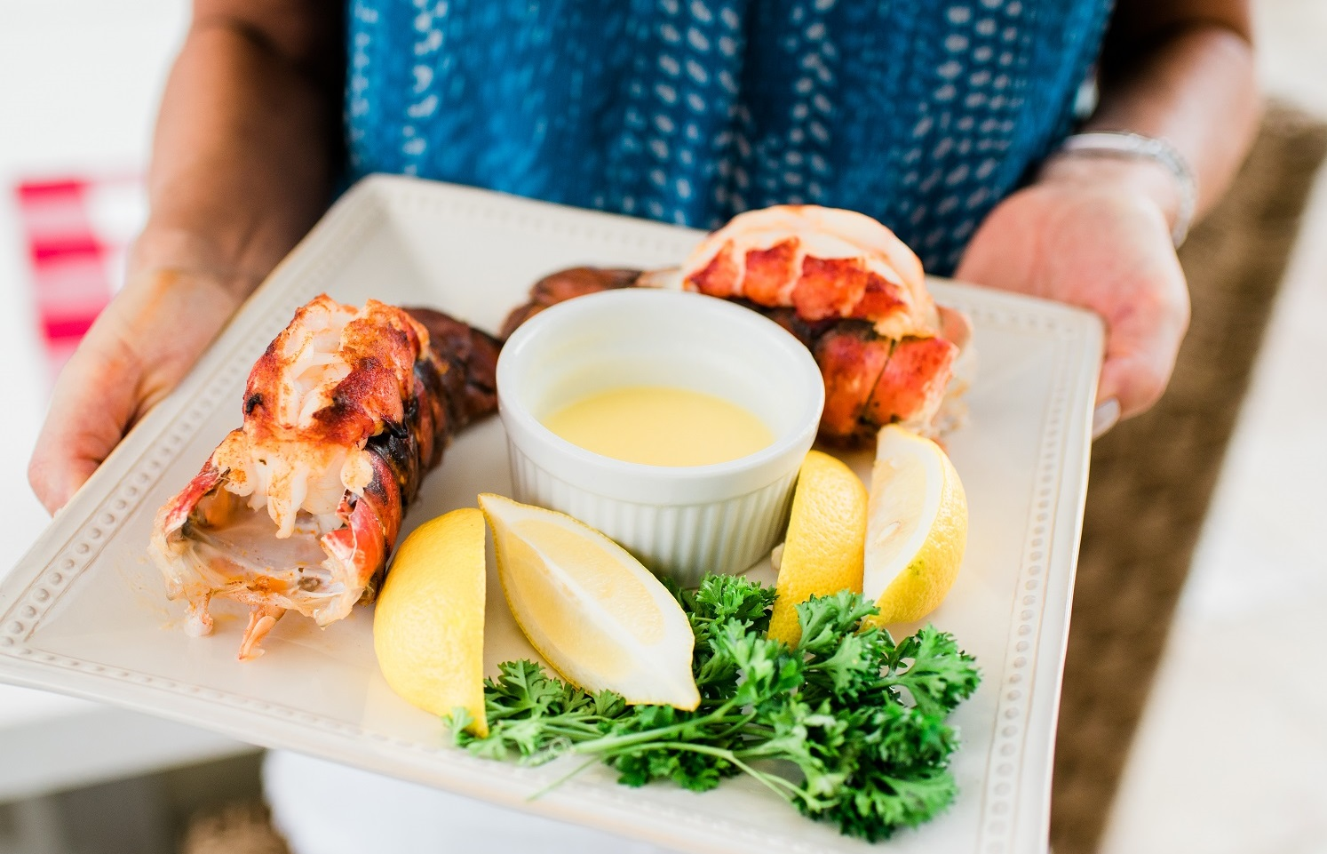 Deconstructed New England Lobster Bake - Enjoy a refined take on this traditional feast
