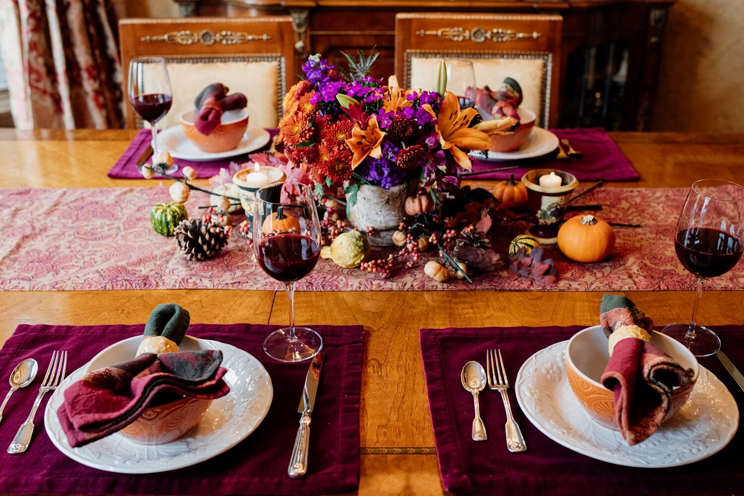 Fall Harvest Dinner - Celebrate the season with cozy elegance