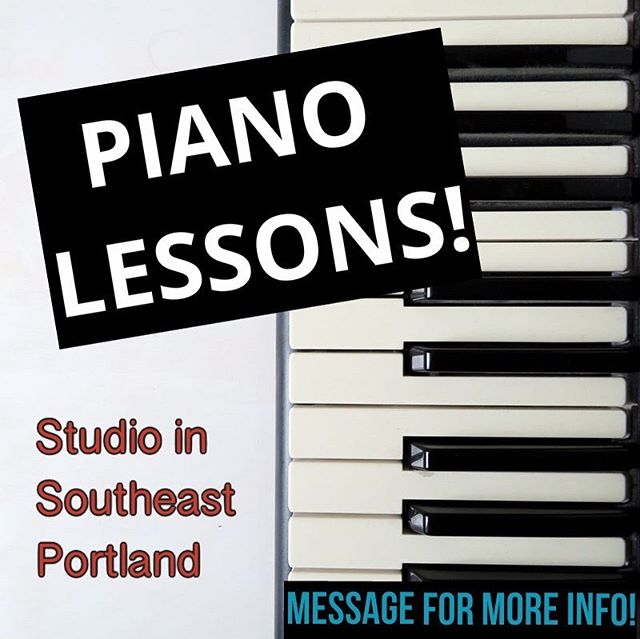 ADULTS who live in PORTLAND! I am offering piano lessons for $45 per hour! No, there's no catch. Now that we got that out of the way... . Have you always wanted to learn piano but kept putting it off? Maybe you think it's too late. 👎 That seems to be the major reason for most adults. Well, I'm about to tell you a little secret... it is NEVER too late to invite a wonderful new hobby into your life that will bring you JOY and Peace. ♥️ . Aside from the daily enjoyment that playing piano brings, working on continuously improving your skills provides an INCREDIBLE feeling of fulfillment, knowing that you are progressing in a whole new skill, doing something you never saw yourself doing! 💪  By taking lessons with me, you will quickly learn: . 🎵 sight-reading 🎵 music theory 🎵 memorization techniques 🎵 to play with ease, precision, and emotion 🎵 effective practice methods for improving technique 🎵 how to practice with intention to retain your skills  Learning piano is a worthwhile journey, and should you choose to embark on this journey, I hope to be your guide! 🎹  EMAIL: portlandpianostudio@gmail.com WEBSITE: www.portlandpianostudio.com . . . . . . . #pianist #piano #pianomusic #guitar #violin #classicalpiano #musician #student #vivaldi #valentinalisitsa #portland #classicalmusic #twosetviolin #chopin #teacher #concert #langlang #mozart #beethoven #classical #liszt #acoustic #learnpiano #cello #pnw #musiclife #band #pdx #bach #haydn