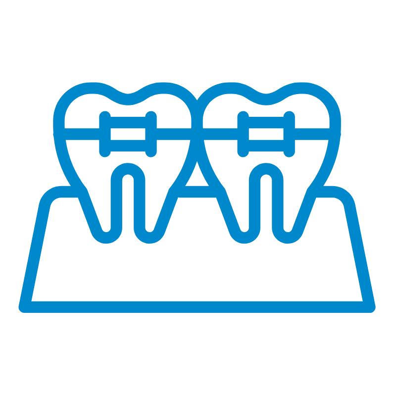 Smile & function orthodontics tooth bracket graphic