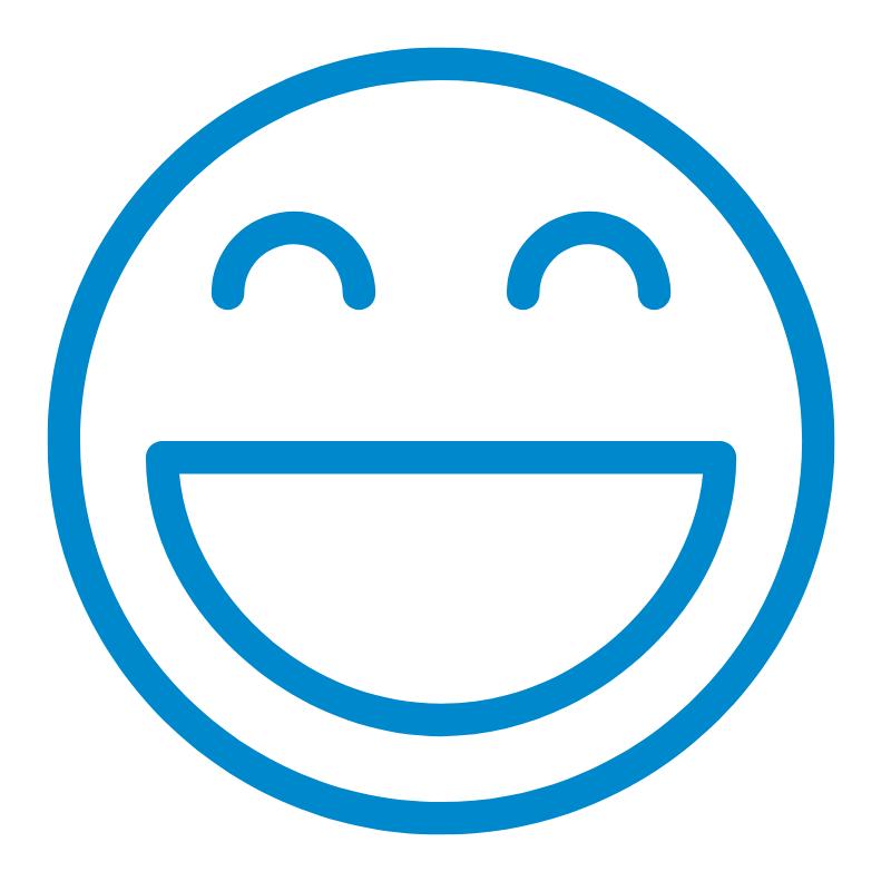 Smile & Function retention smile graphic